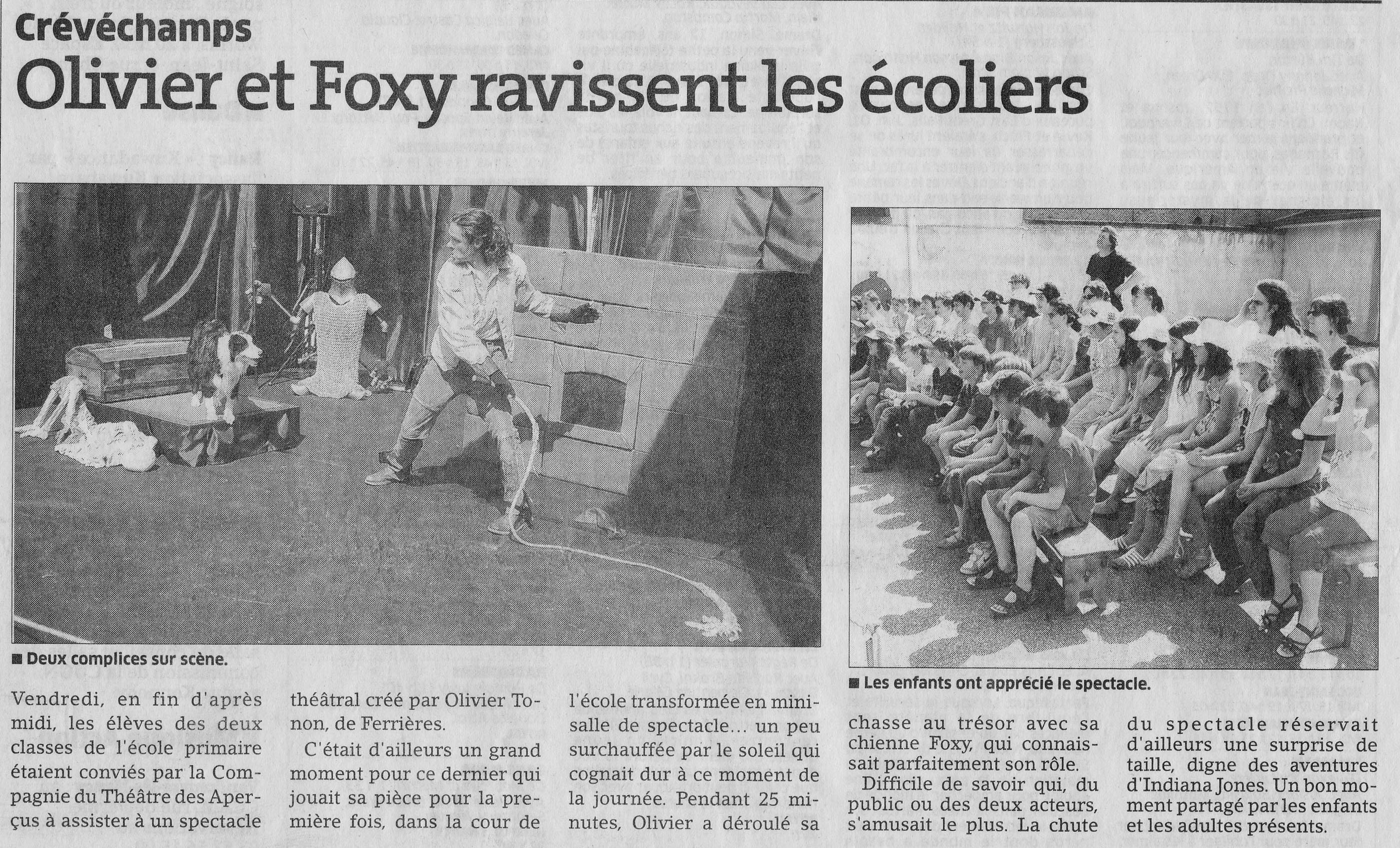 Article Foxcie 1